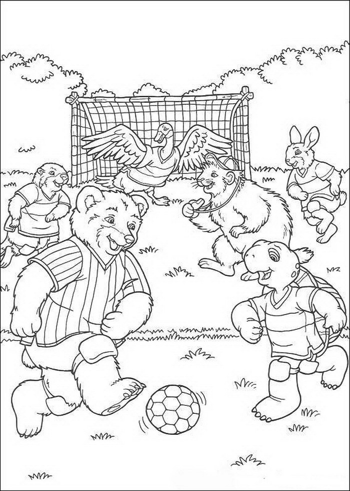 Franklin coloring pages