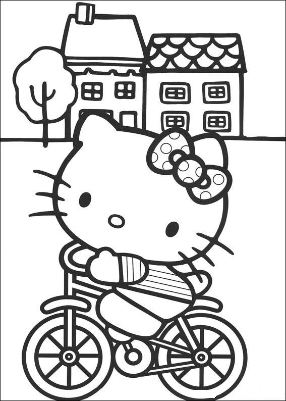 Hello kitty Coloring pages Tv series coloring pages
