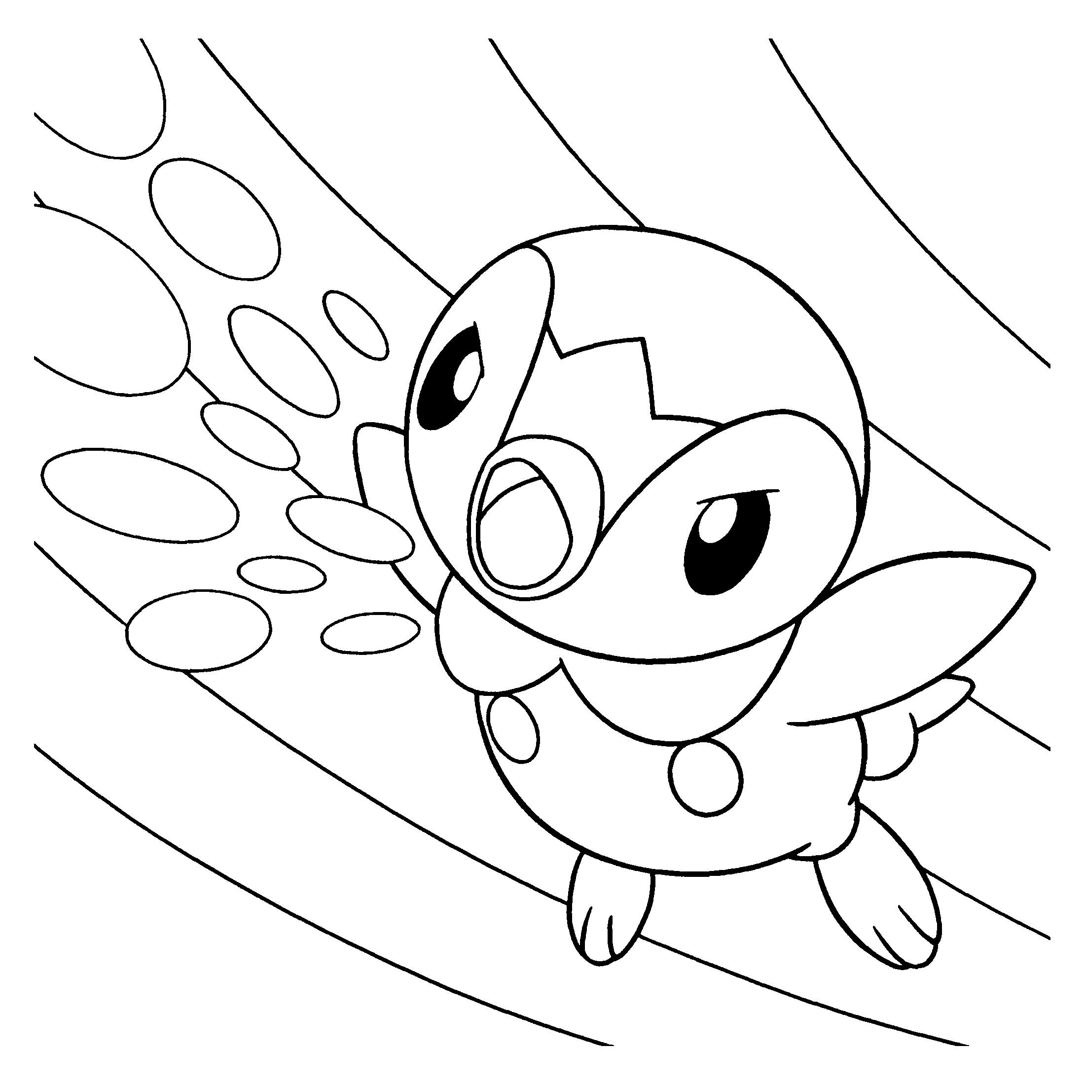 Ausmalbilder Pokemon : Coloring Page Tv Series Coloring Page Pokemon Diamond Pearl