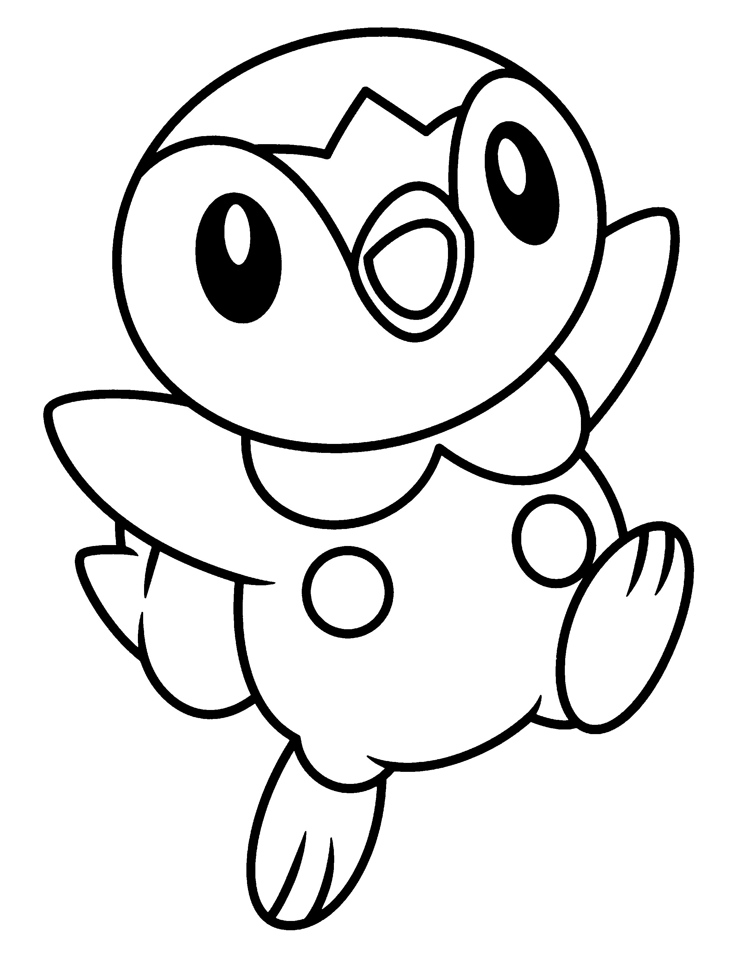 Coloring page tv series coloring page pokemon diamond for Tv coloring page