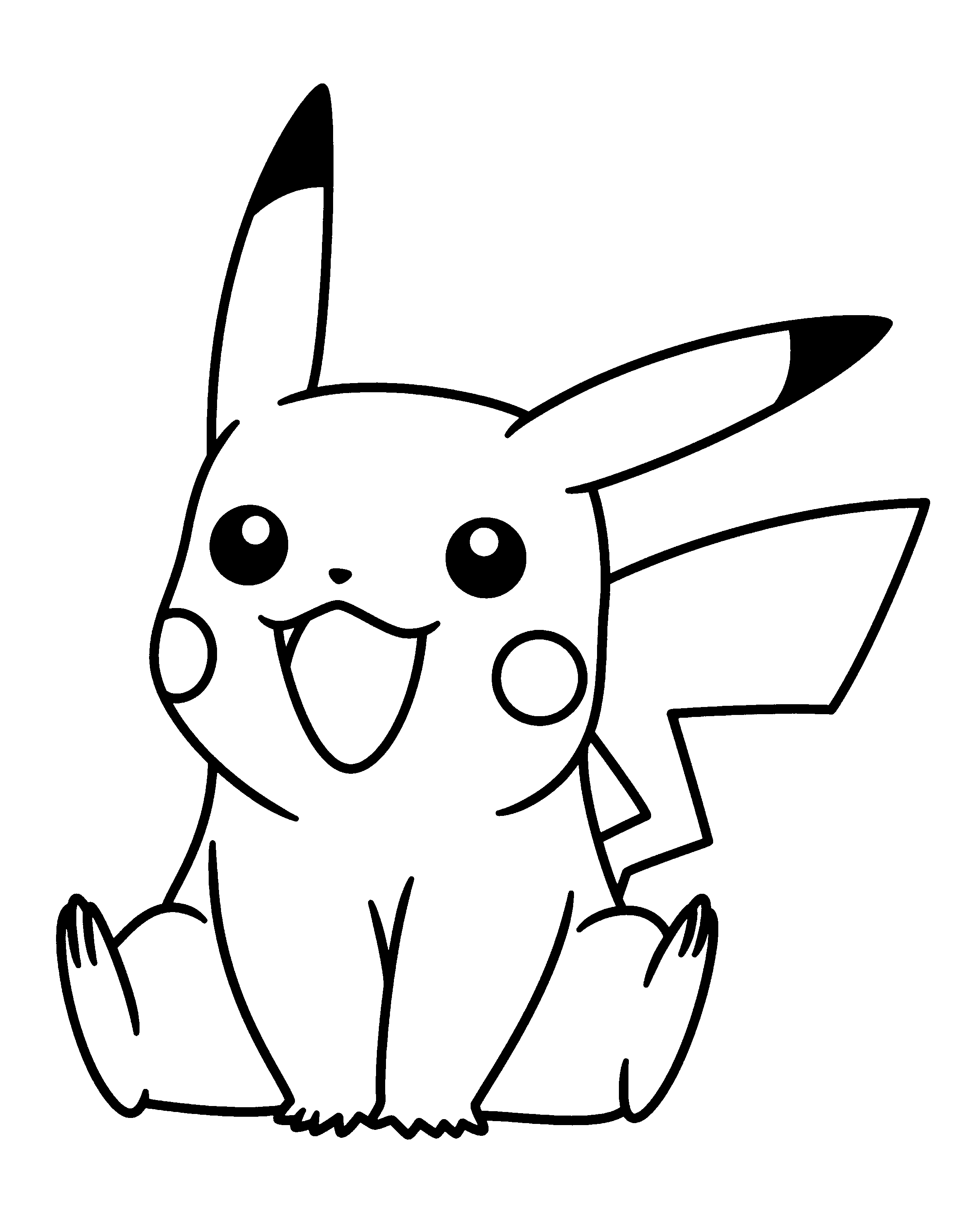 Pokmon Logo Colouring Pages