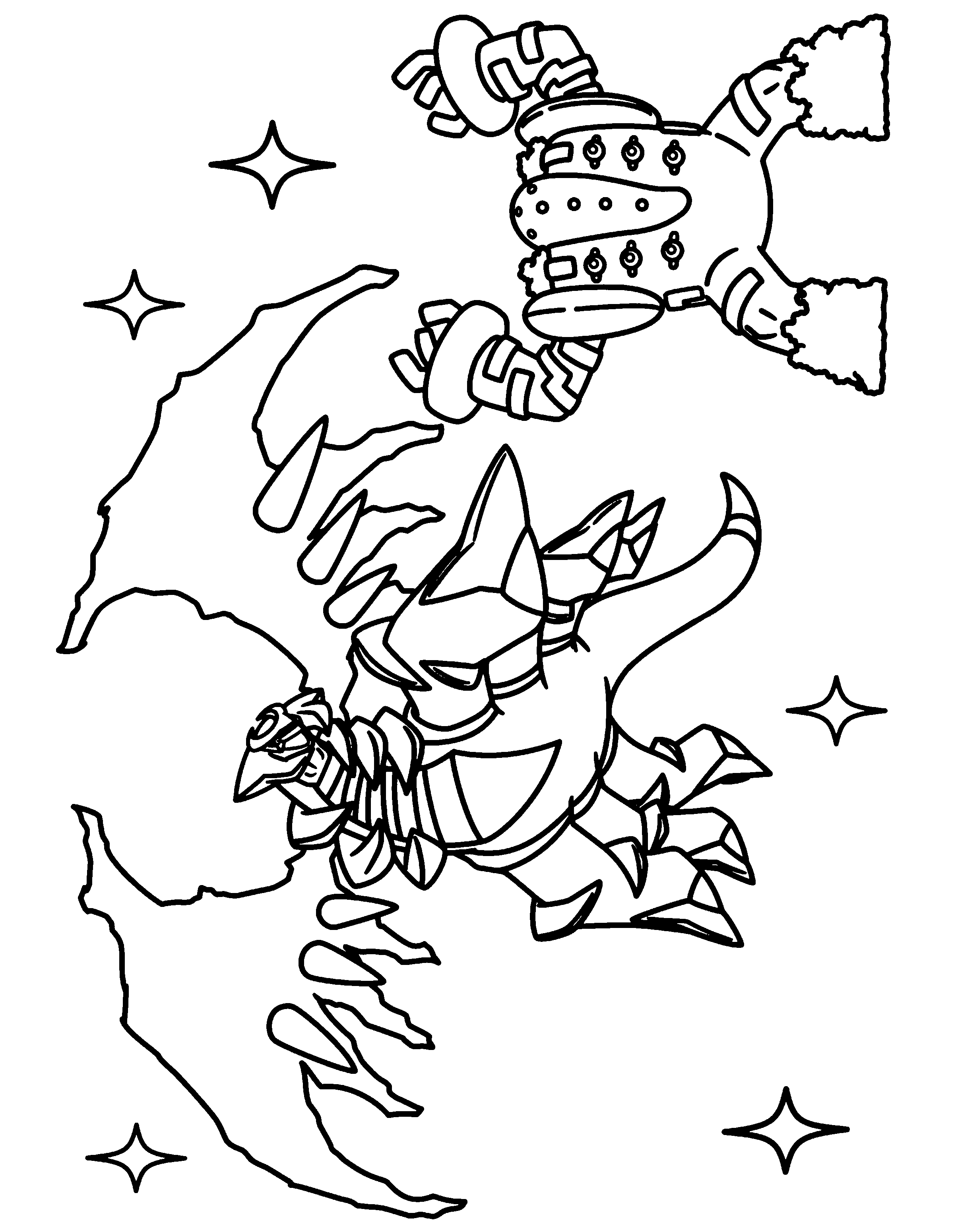 Hoopa Unbound Coloring Pages Coloring Pages