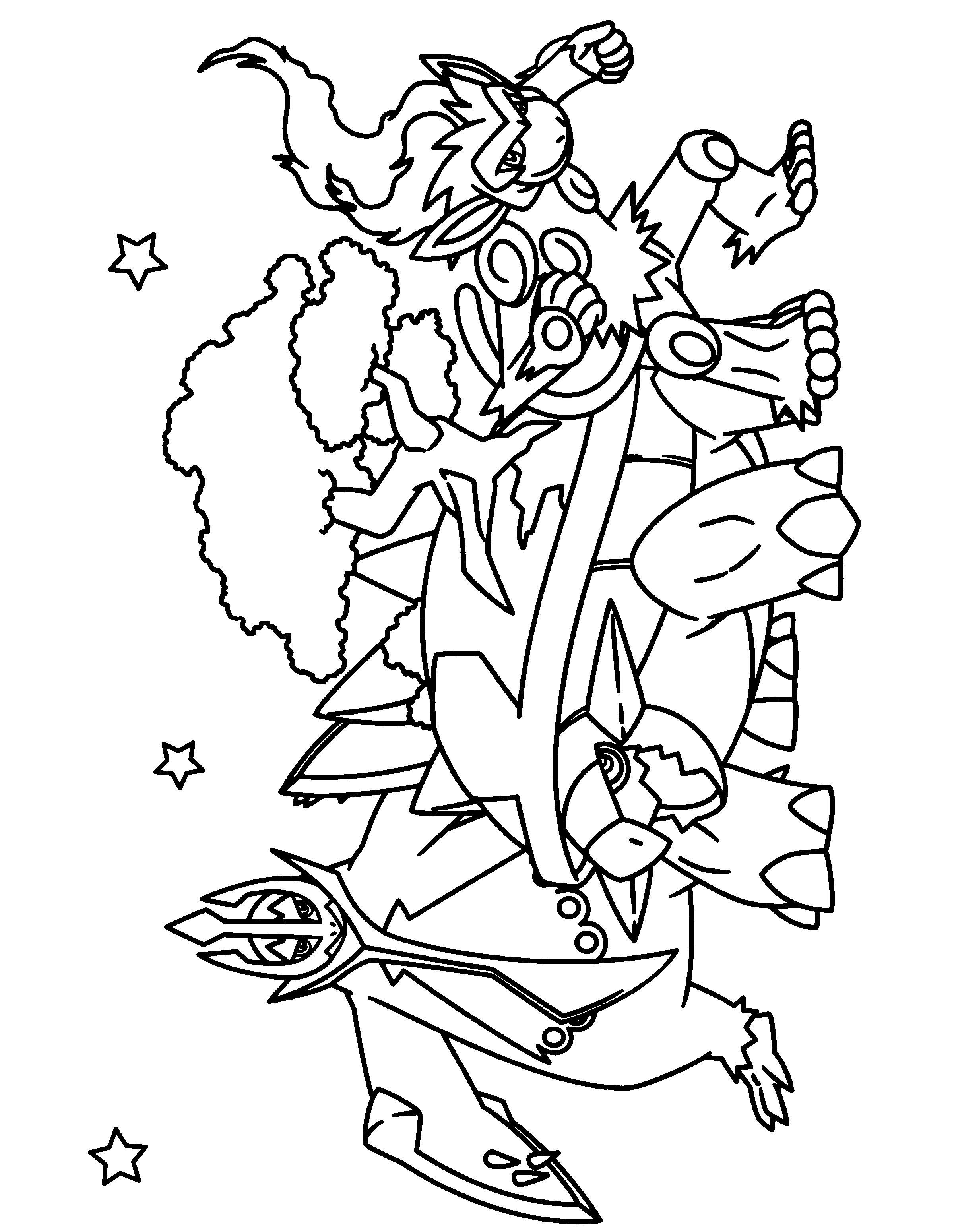 pokemon dimond coloring pages - photo#13