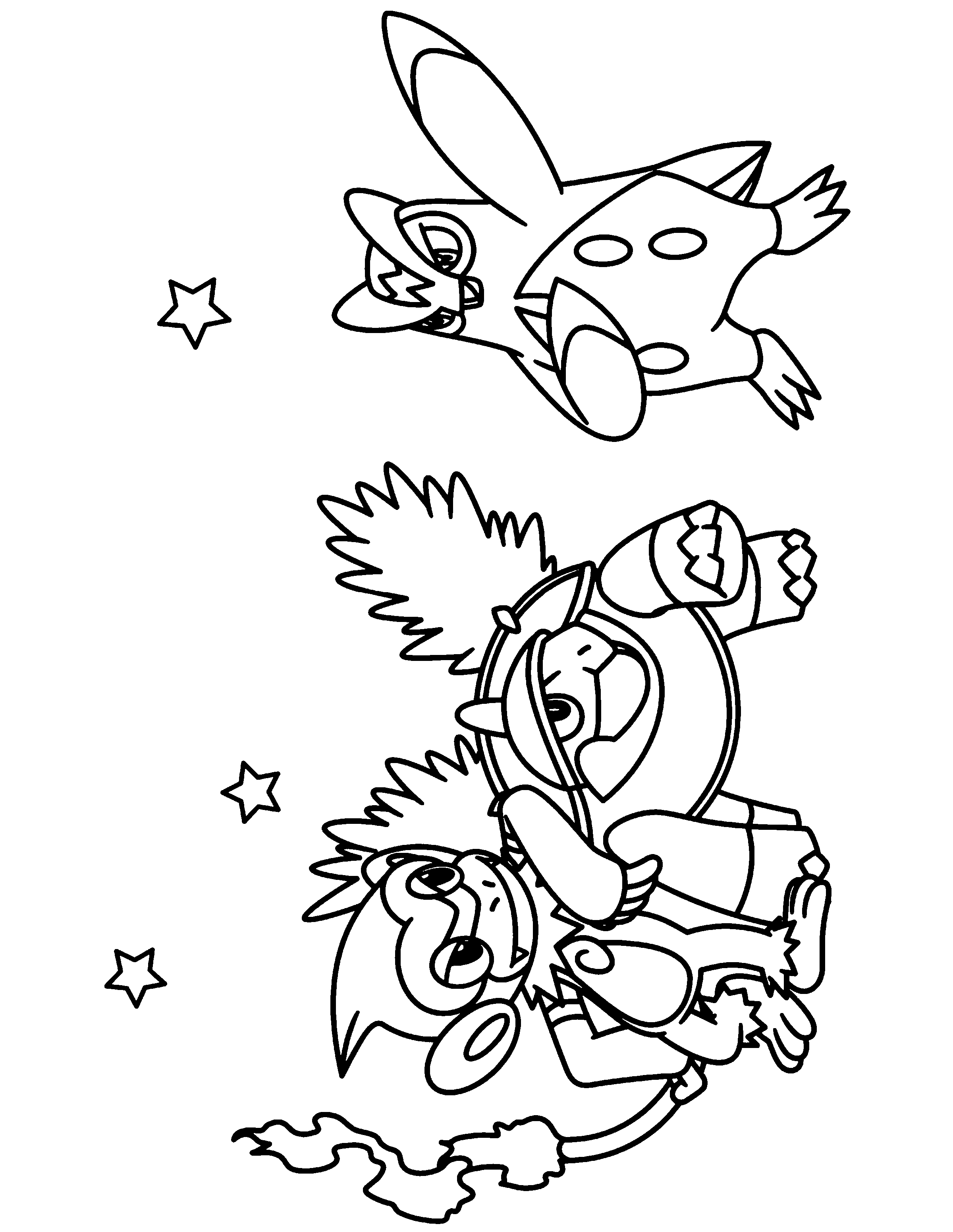Coloring Page Tv Series Coloring Page Pokemon Diamond Pearl ...