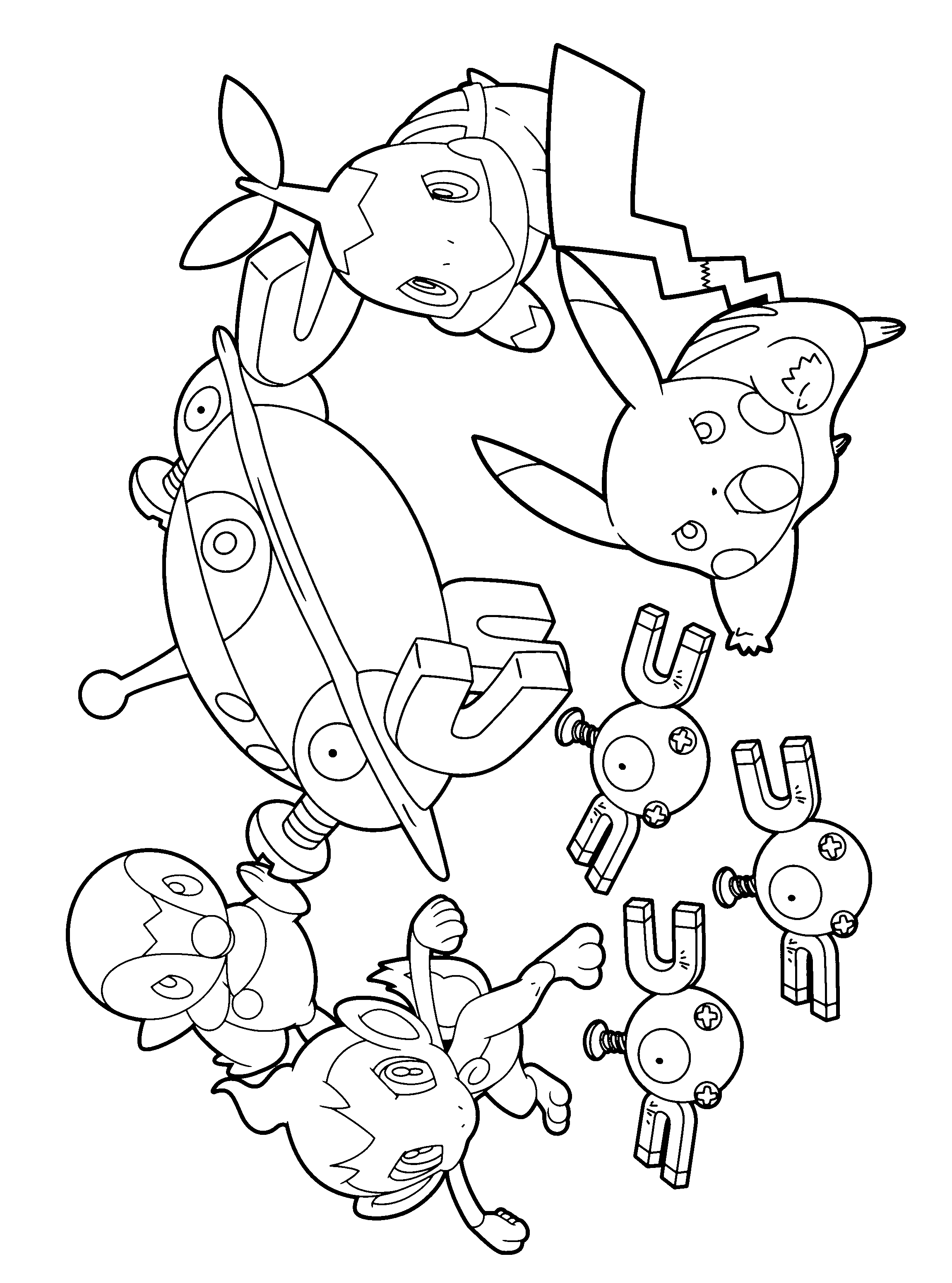 pakemon diamond pearl coloring pages - photo#18