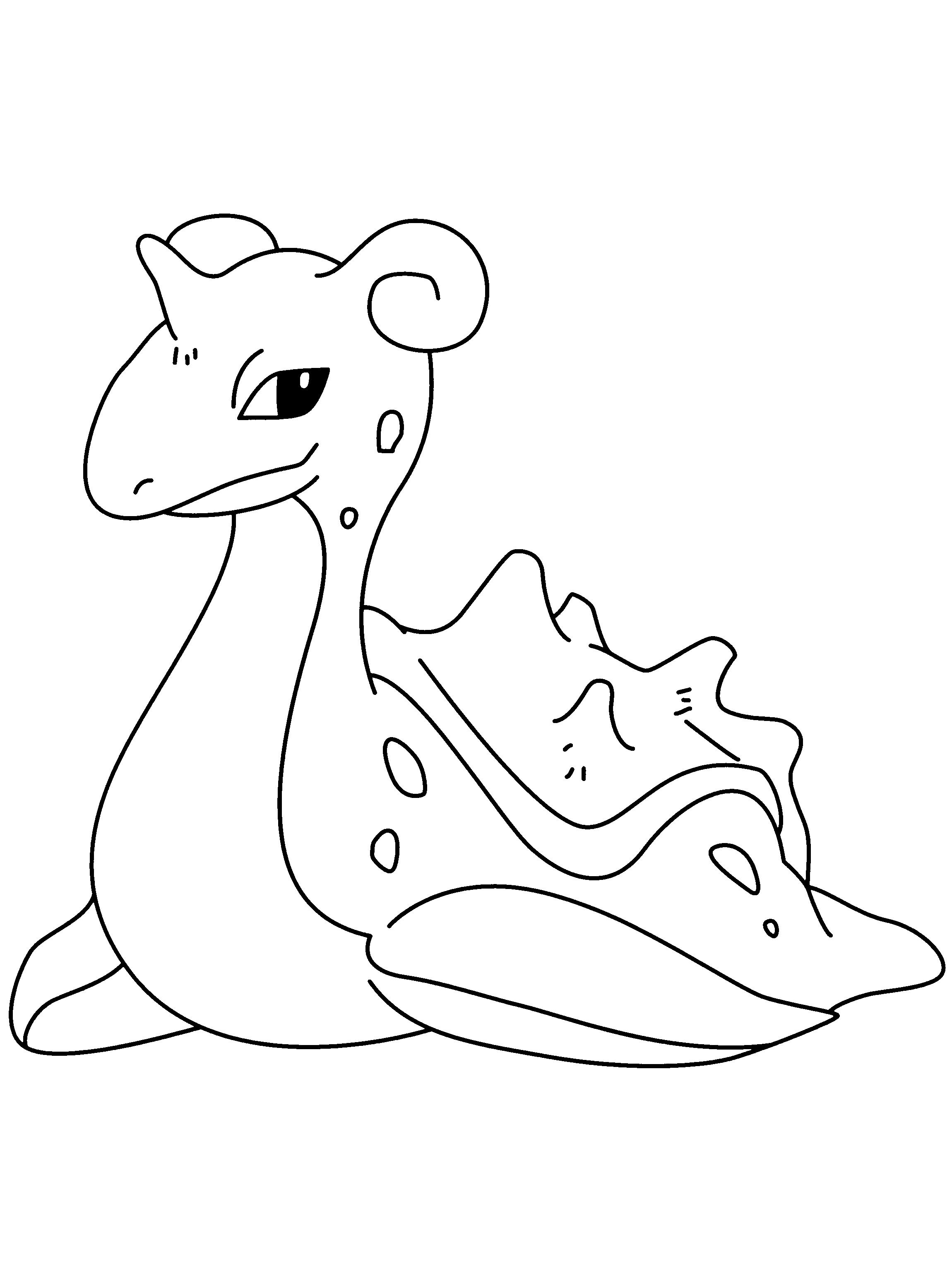 Раскраски покемоны - 5