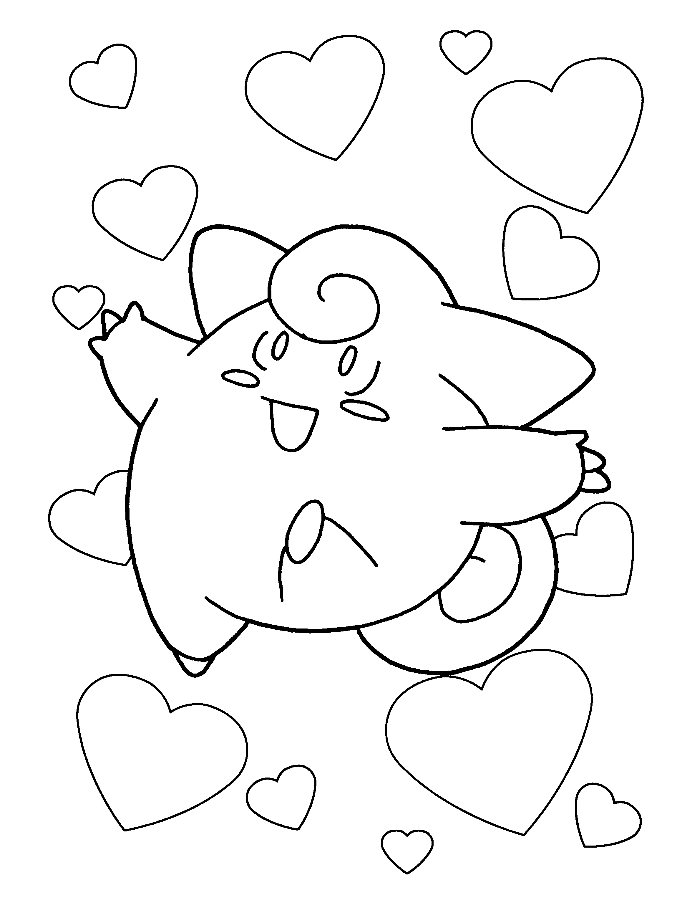 Sassy image for printable coloring pages pokemon