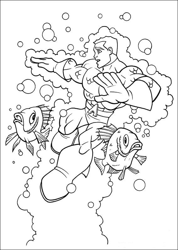 Coloring Page Tv Series Coloring Page Superfriends ...