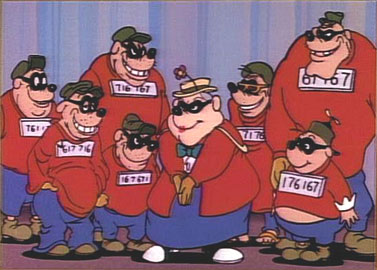 Beagle boys disney gifs