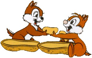 Chip and dale disney gifs