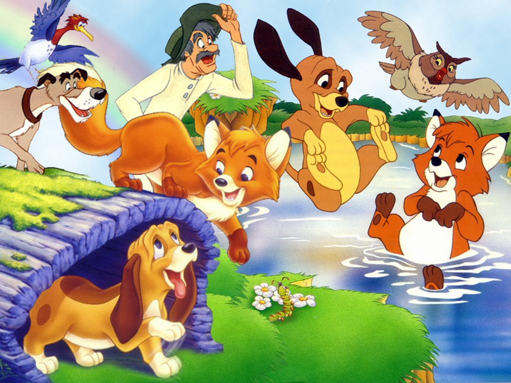 Fox and the hound disney gifs
