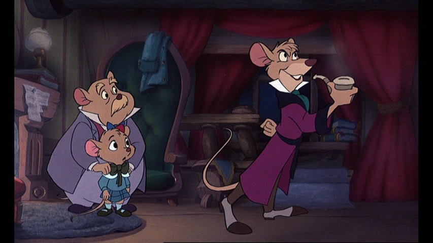 Great mouse detective disney gifs