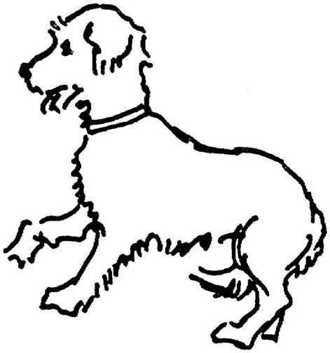 Dog graphics black white dogs 173553 Dog Graphic Gif
