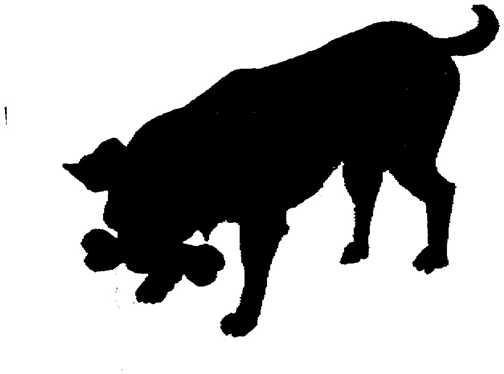 Black white dogs dog graphics