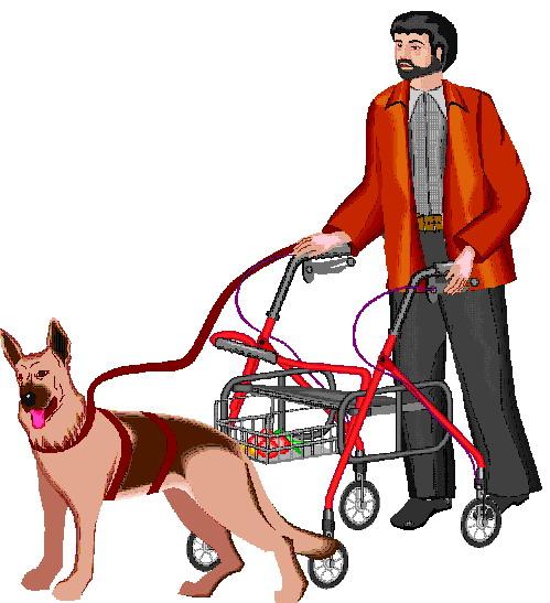 Service dog dog graphics