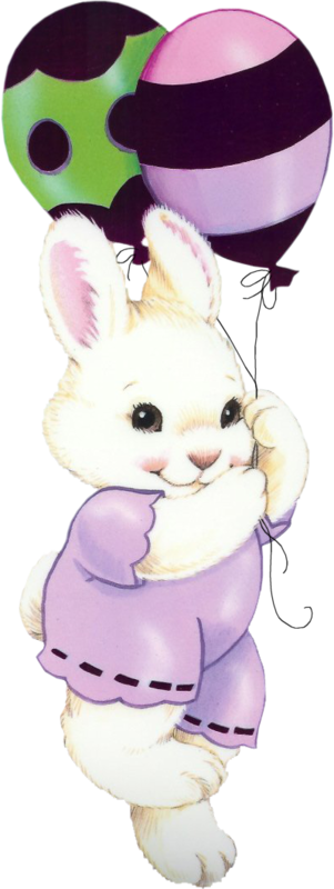 Rabbits easter graphics