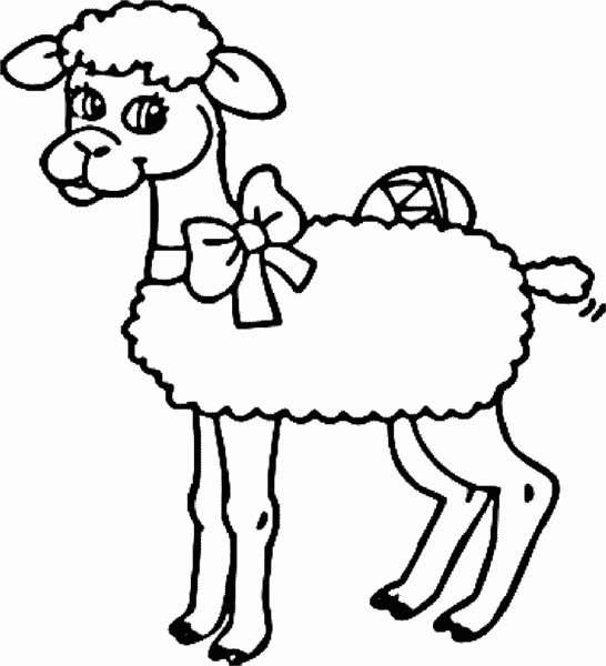 Sheep easter graphics