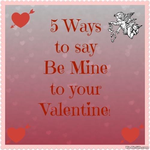 Be mine valentine facebook graphics