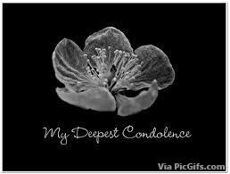 Facebook graphics Condolances