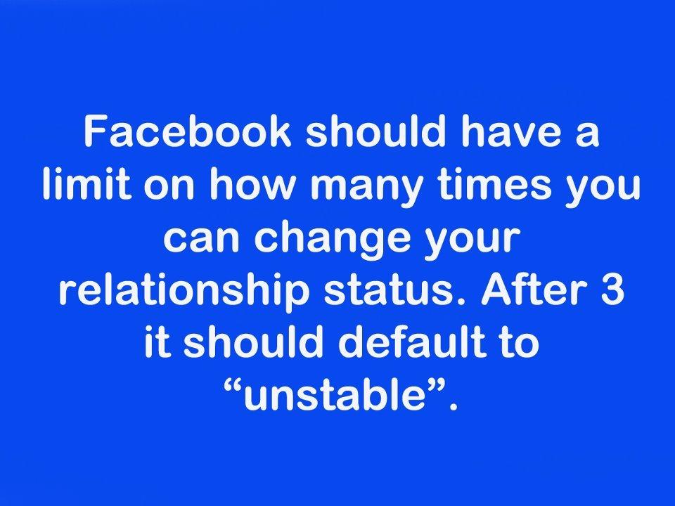 facebook relationship stop