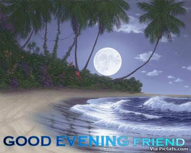 Good evening facebook graphics