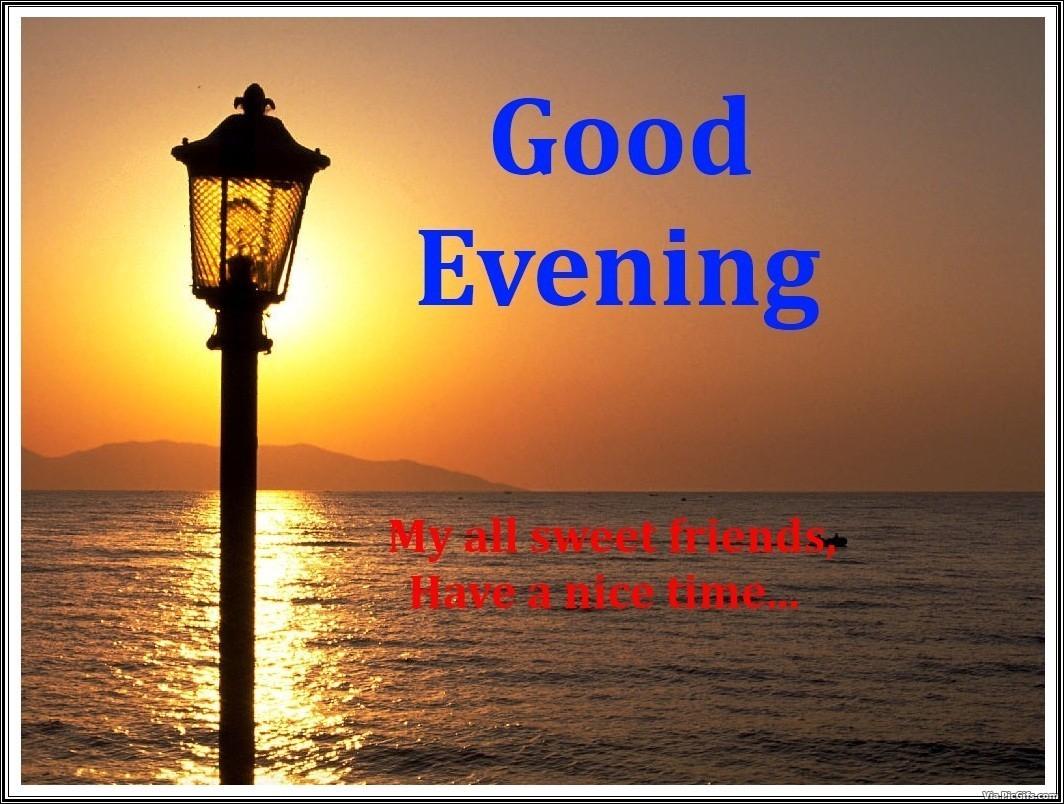 Good Evening Facebook Graphic Picgifs