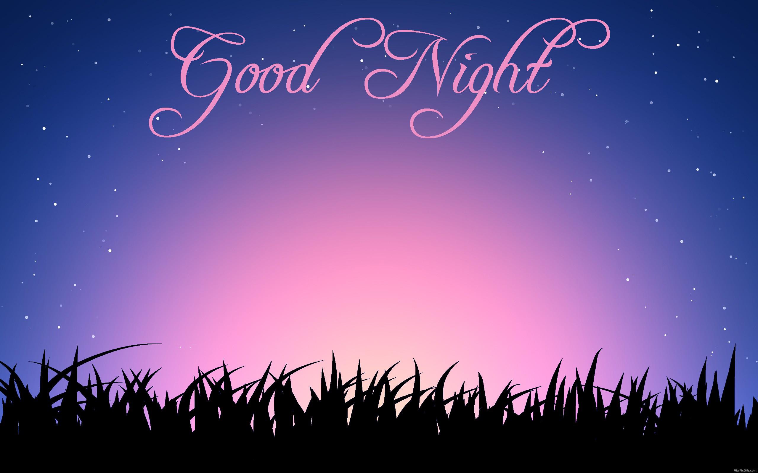 Good night facebook graphics