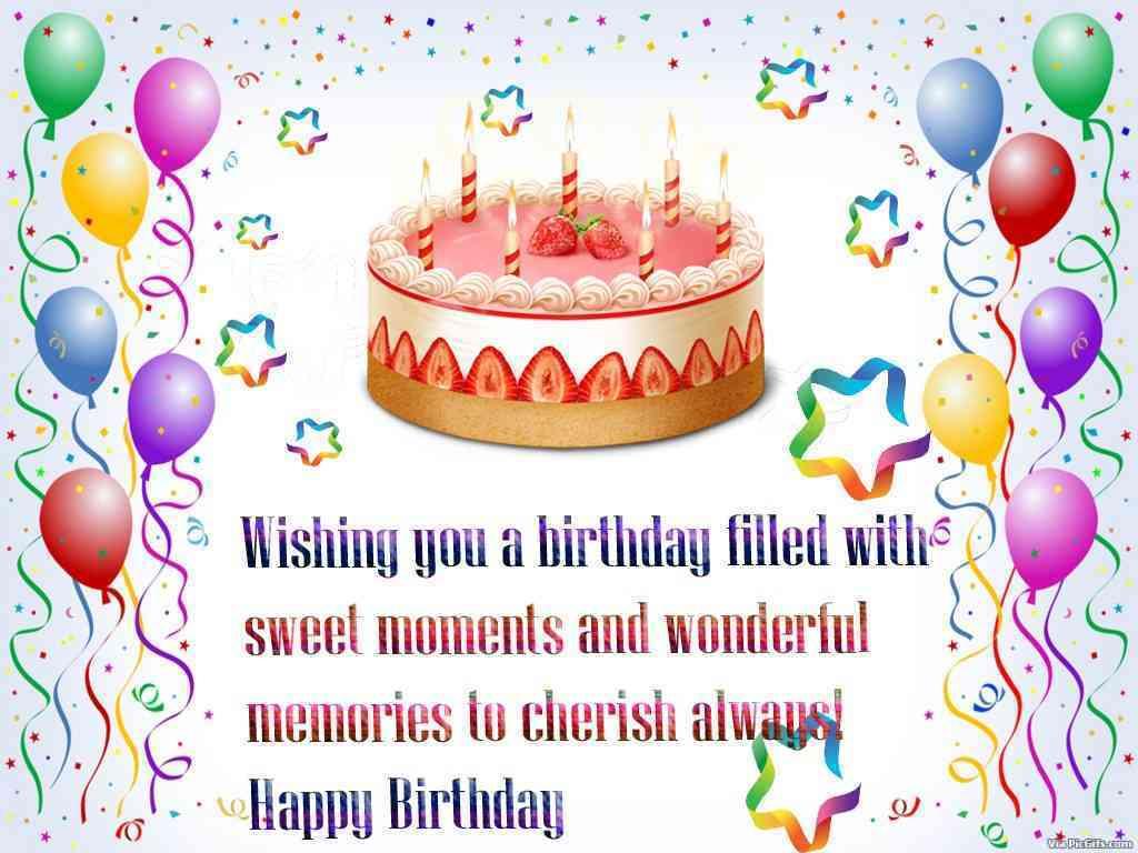 Write a birthday wish on her timeline