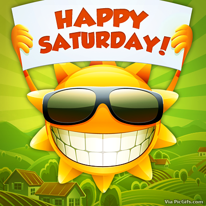 Saturday Facebook graphics