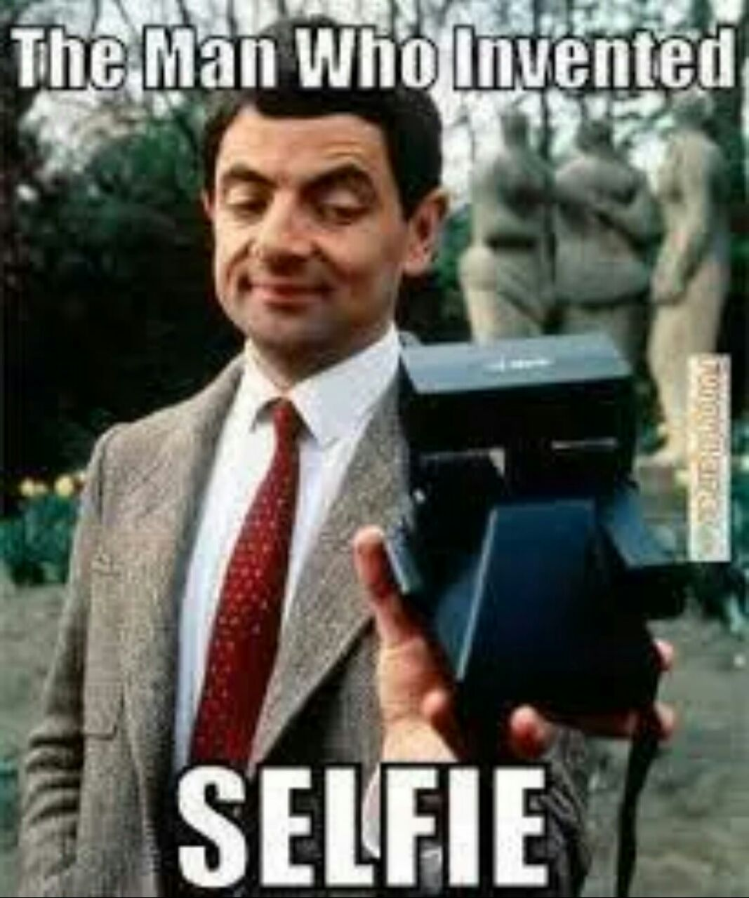 Funny Mr Bean Meme : Selfie humor facebook graphic inventor of the