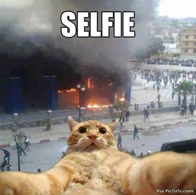 Selfie humor facebook graphics