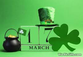 St patricks day facebook graphics