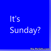 Sunday Facebook graphics