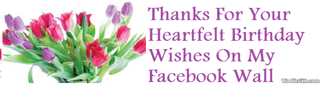 Thank You Facebook Graphics Picgifs Thanks For Birthday Wishes
