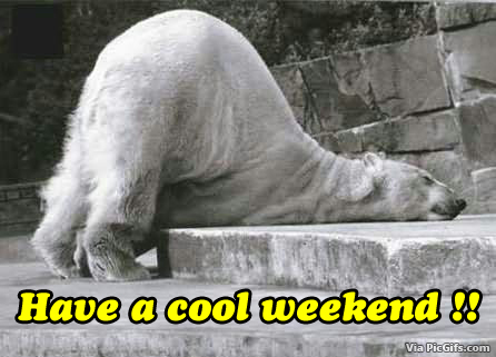 Weekend Facebook graphics