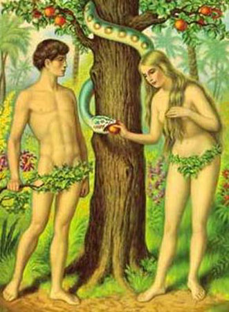 Adam eve graphics