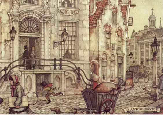 Anton pieck graphics