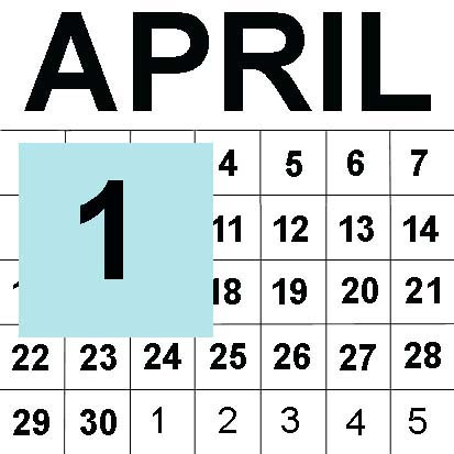 April fools graphics