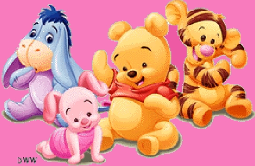Baby pooh graphic animated gif graphics baby pooh 081823 - Winnie the pooh and friends wallpaper ...