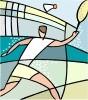 Badminton graphics