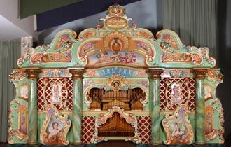 Barrel organ graphics