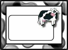 Blank name plates graphics
