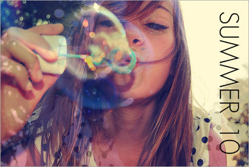 Bubble blower graphics