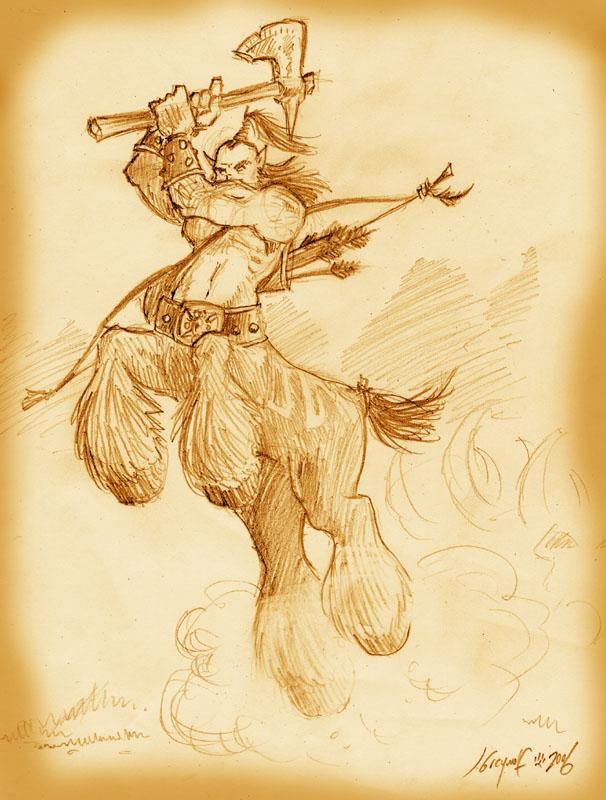 Centaur graphics
