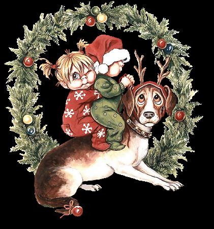 Christmas Animals Graphic Animated Gif Graphics