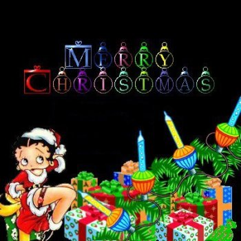Christmas betty boop graphics