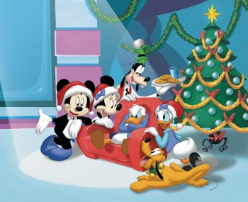 Christmas disney graphics