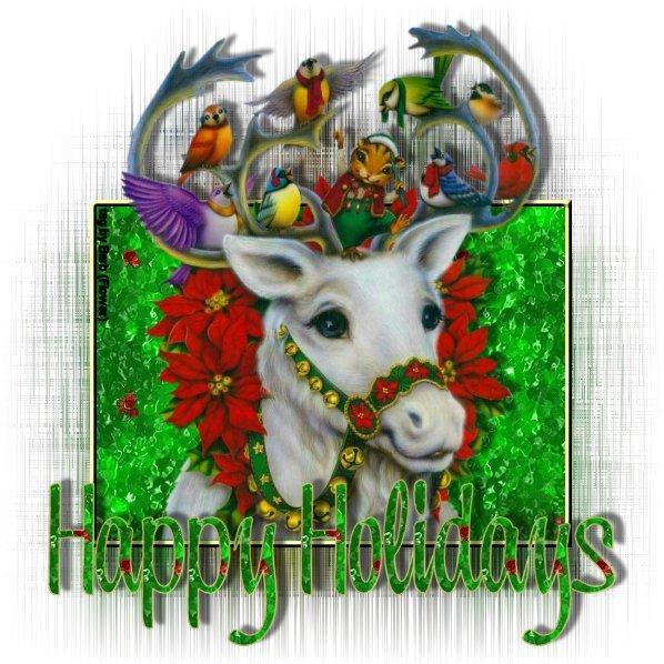 Christmas reindeer graphics