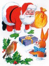Christmas santas graphics