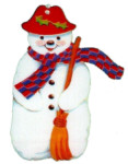 Christmas snowman graphics